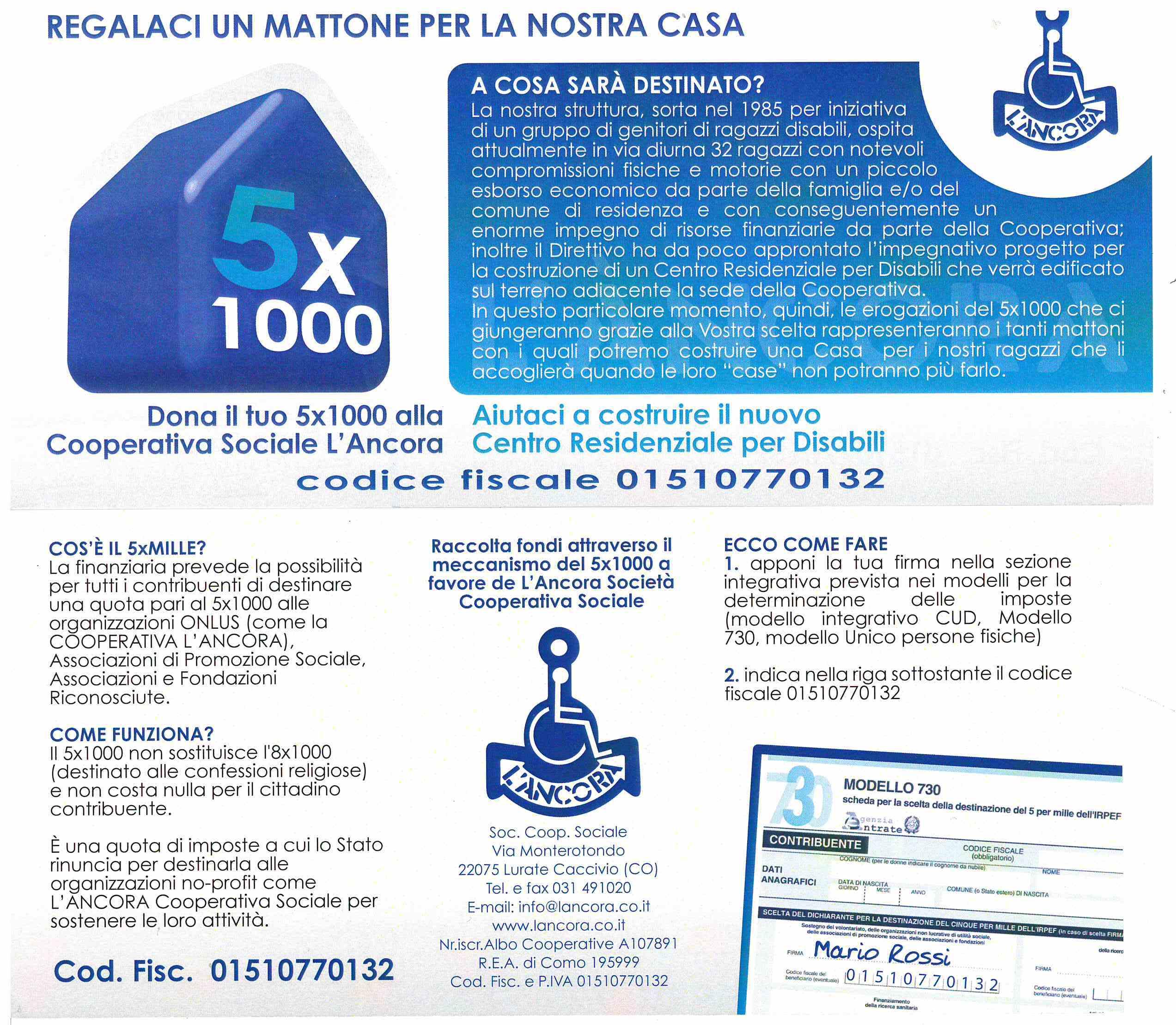 5 X 1000 PRO L'ANCORA 2019